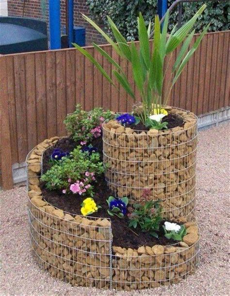 outdoor craft projects diy frugal idea for garden planter project pictures