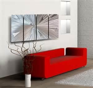 modern contemporary wall decor aluminum wall art artic blast aluminum wall art