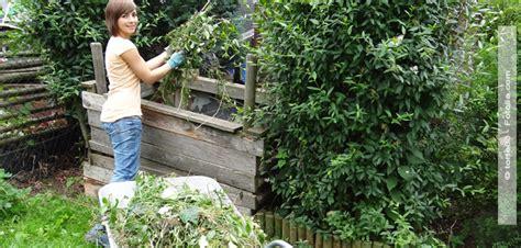 heimwerken garten kompostanlage selber bauen hallo frau das