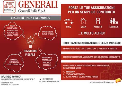 ufficio sinistri quixa generali italia assicurazioni preventivo e contatti