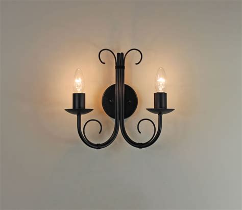 Iron Wall Lights The Quot Hambleton Quot Wrought Iron Wall Light Bespoke
