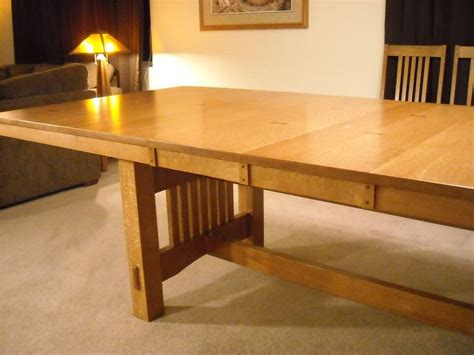 expandable  dining table plans woodworking projects