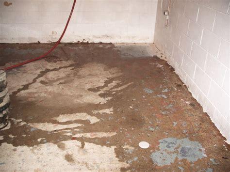 seepage in basement water seepage accurate basement repair