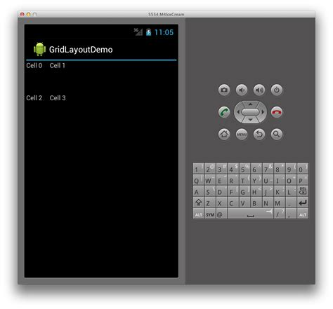 spacing in gridlayout gridlayout xamarin