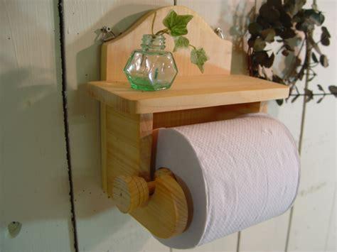wooden toilet paper holder oak wood with by angels dust rakuten global market natural oak white