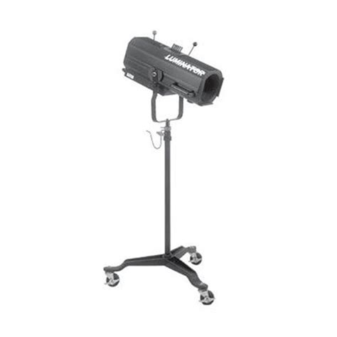 altman follow spot with castered stand luminator b h photo