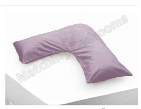 hollowfibre back neck support v shaped orthopedic pillow