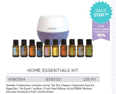 home essentials buy doterra essential oils australia nz