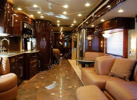 motor home interiors luxurious motorhomes interior 2010 newmar king aire 4566