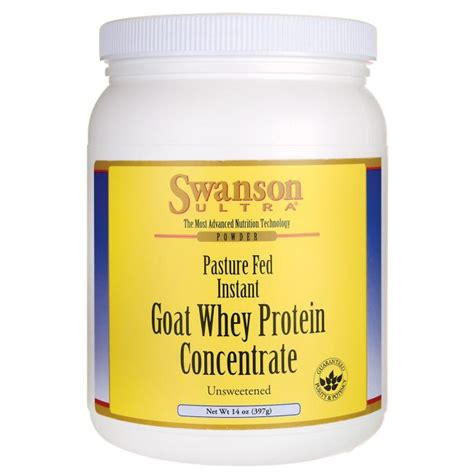Whey Protein Concentrate Goat Whey Protein Hormone Free Pasture Fed Swanson