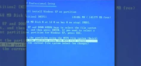 format hard drive xp dos how to reformat your hard drive to install windows xp