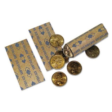 printable quarter coin wrappers pmc53200 tubular coin wrappers dollar coins 25 pop open