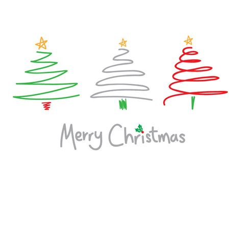 merry christmas modern contemporary merry christmas card by megan claire