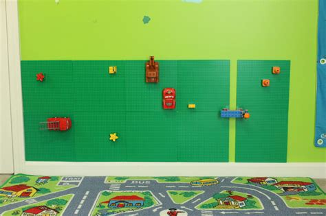Home Decorating Wall Art by Easy Lego Sensory Wall Vertical Lego Kids Room Decor