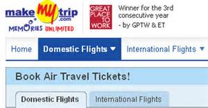 Make My Trip Makemytrip Paypal Join Hands For Flight Bookings To India