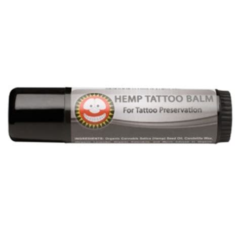 hemp tattoo hemp balm
