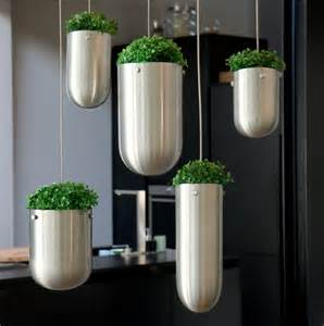 hanging floating garden planters for indoors and outdoors