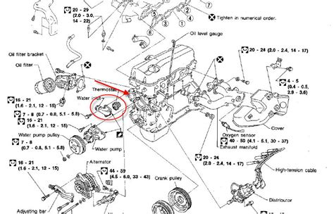 2001 Nissan Pathfinder Thermostat 95 Nissan Maxima Thermostat Location Wiring Diagram