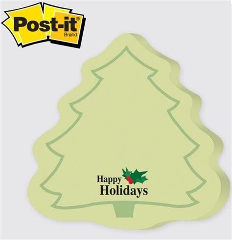 pine tree evergreen christmas tree post it note pads