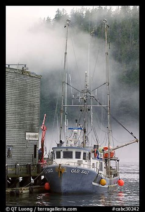 used ocean fishing boats bc picture photo commercial fishing boat and fog tofino