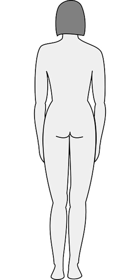 female human body coloring page coloring pages