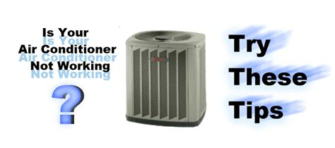 air conditioner outside unit fan not working air conditioner problems 1st class heat air