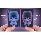 Front And Back Views Of The X Ray Playing Cards