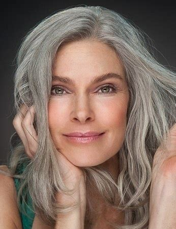 Gray Hair Styles For At 50 | beautiful long gray hair style pictures wehotflash