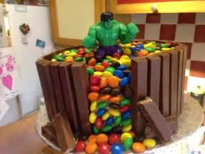 hulk kit kat  mm cake cakes   cake cake kit birthday cake