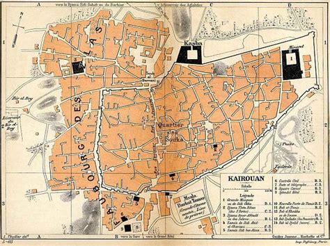 kairouan map kairouan unesco world heritage site