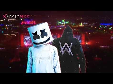 marshmello vs alan walker alan walker vs marshmello alone breakbeat 2017 youtube
