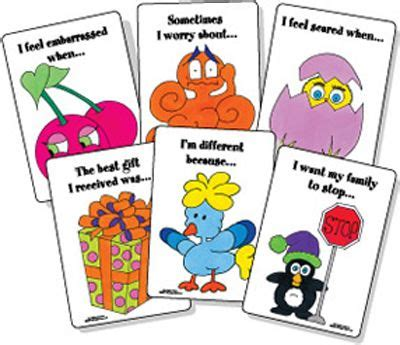a therapeutic treasure deck of feelings and sentence completion cards therapeutic treasures collection books 17 best images about therapeutic board card and