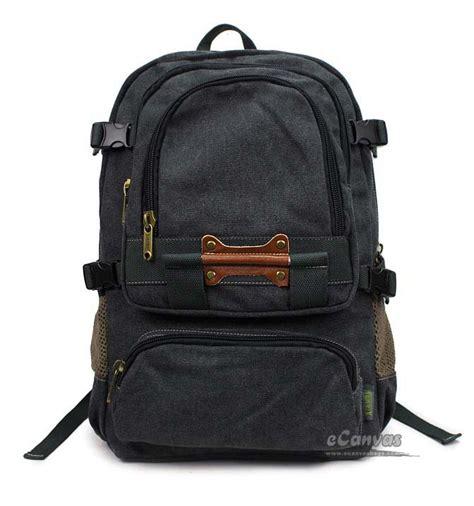 Book Bags by Canvas Book Bag Khaki Black Laptop Bag 15 Travel Laptop