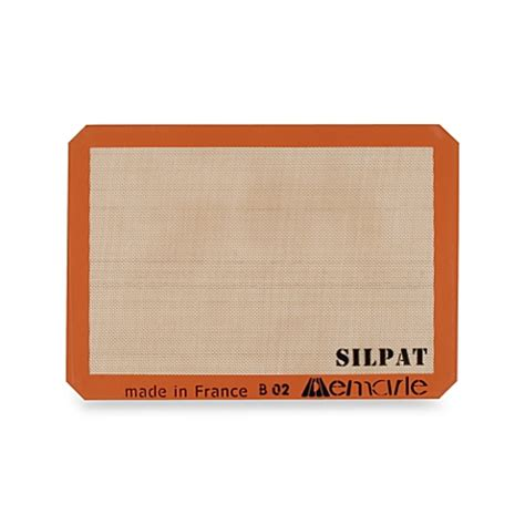 Baking Silicone Mat by Silpat 174 Nonstick Silicone Baking Mat Www Bedbathandbeyond Ca