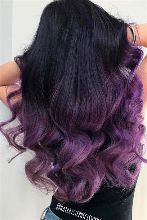 weave hairstyles with purple tips 43 tempting and attractive purple hair looks purple