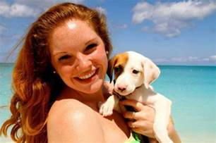 places where you can play with puppies potcake place creates tropical island where you can play with puppies all day metro news