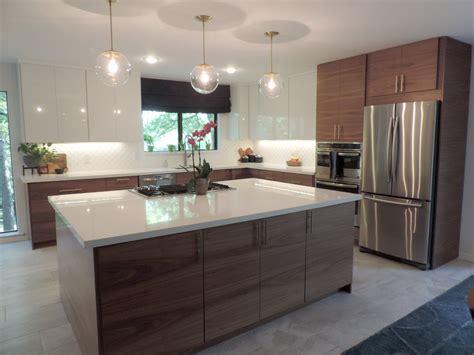 A Mid Century Modern IKEA kitchen for a gorgeous, light