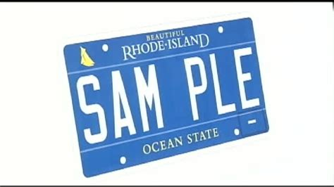 Vanity Plates Ri by Chafee Introduces New Ri License Plate Wjar