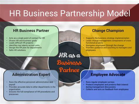 Anschreiben Bewerbung Hr Busineb Partner Hr Business Partnership Model