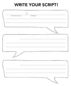 Script Writing Template by Script Writing Template For Boxfirepress