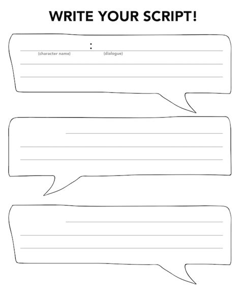 play writing template script writing template for boxfirepress