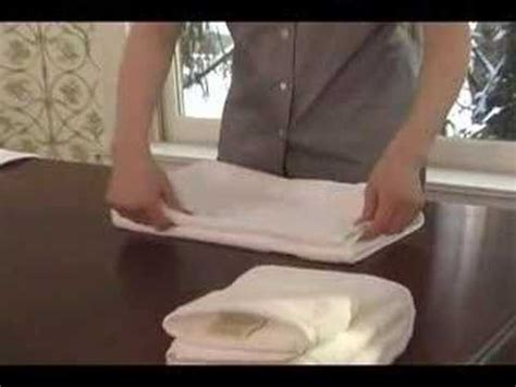 towel folding ideas for bathrooms towel folding youtube