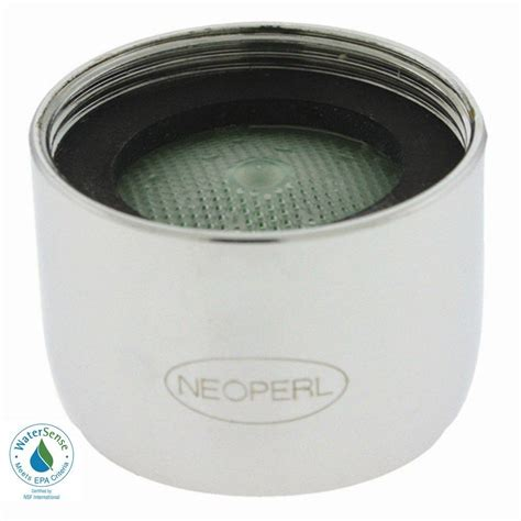 Water Faucet Aerator by Neoperl 1 5 Gpm Regular Ssr Water Saving Faucet Aerator 97203 05 The Home Depot