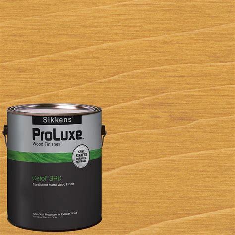 sikkens proluxe  gal teak cetol srd exterior wood finish