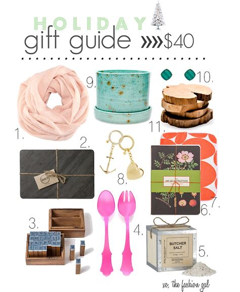 a fashion gal a fireman holiday gift guide gt gt under 40