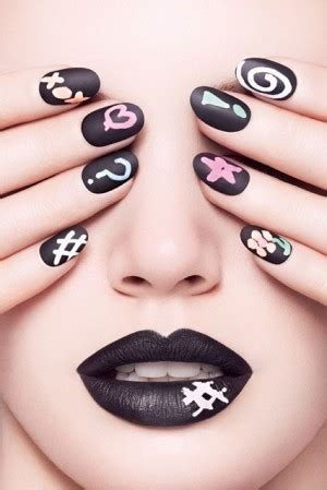 chalkboard paint nail chalkboard manicure kit lets you do the impossible nail