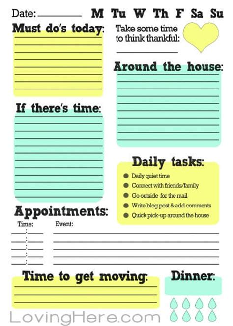 free printable to do list to get organized 15 perfect paper to do lists for busy moms momof6