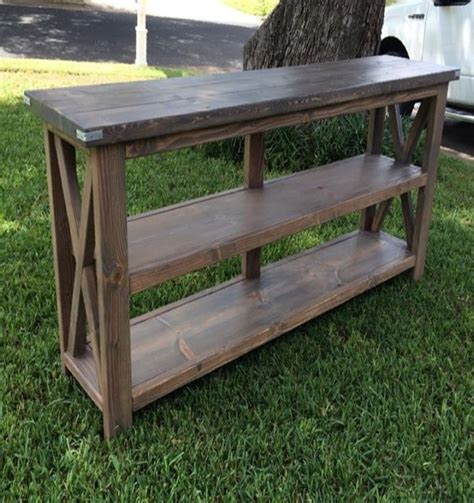 rustic farmhouse console pallets farmhouse style console pallet ideas recycled