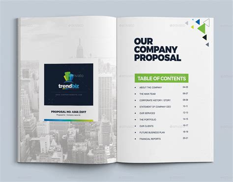 proposal template design project proposal quotation
