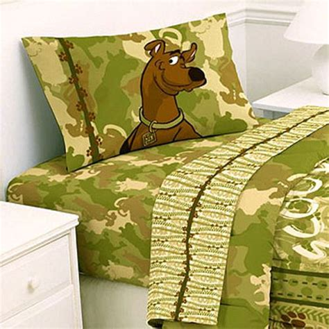 Scooby Doo Bedding Set Scooby Doo Bed Sheets Set Scoobydoo Safari Bedding Size